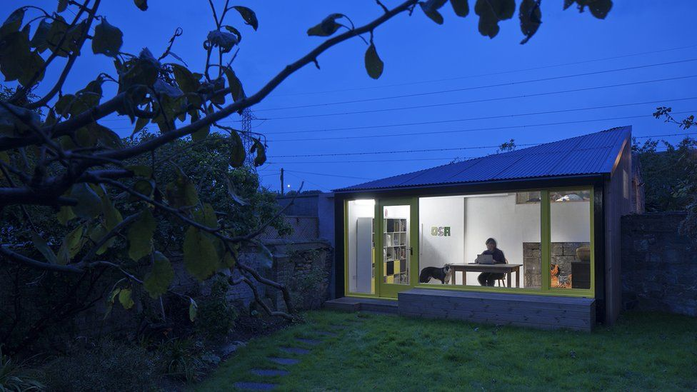 """Rosefield Home Studio, Edinburgh - """"It was converted from a stone garage at the end of the garden"""""""