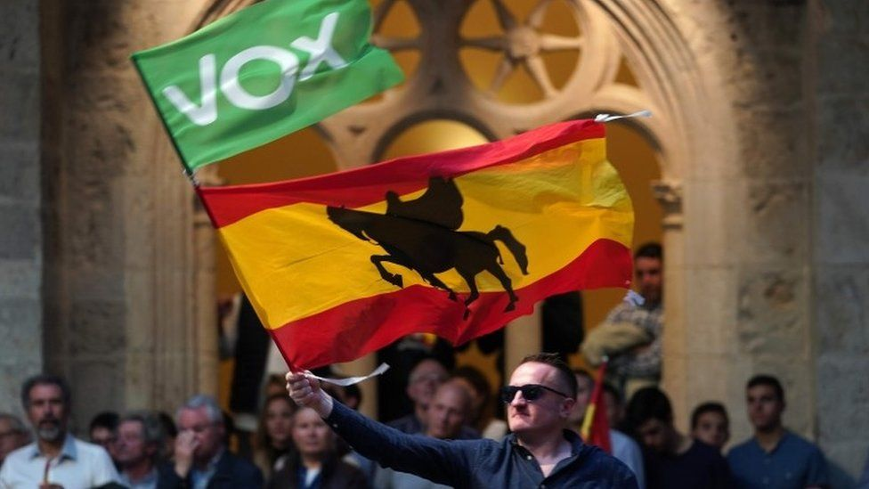 Spanish far-right Vox party banned from TV debate