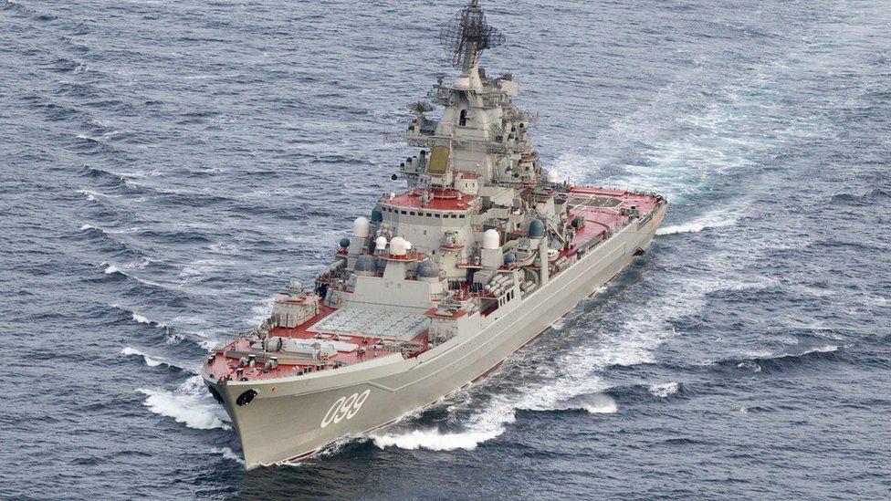 Kirov-class battlecruiser Peter the Great