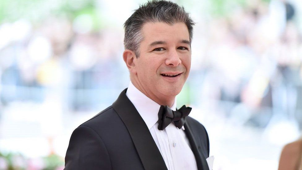 Uber Co Founder Travis Kalanick Steps Down From Board Bbc News