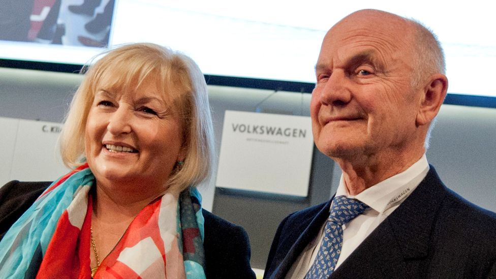Ursula and Ferdinand Piëch, 19 Aug 12