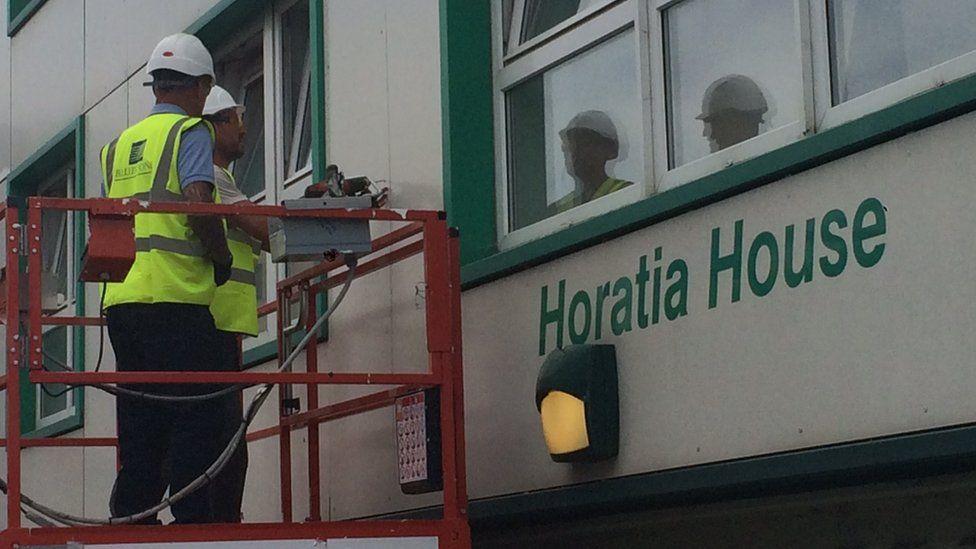 Work on Horatia House