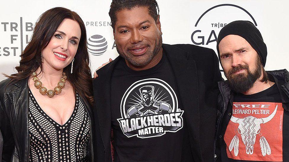 Christopher Judge, Danielle Bisutti, Jeremy Daniels from God of War