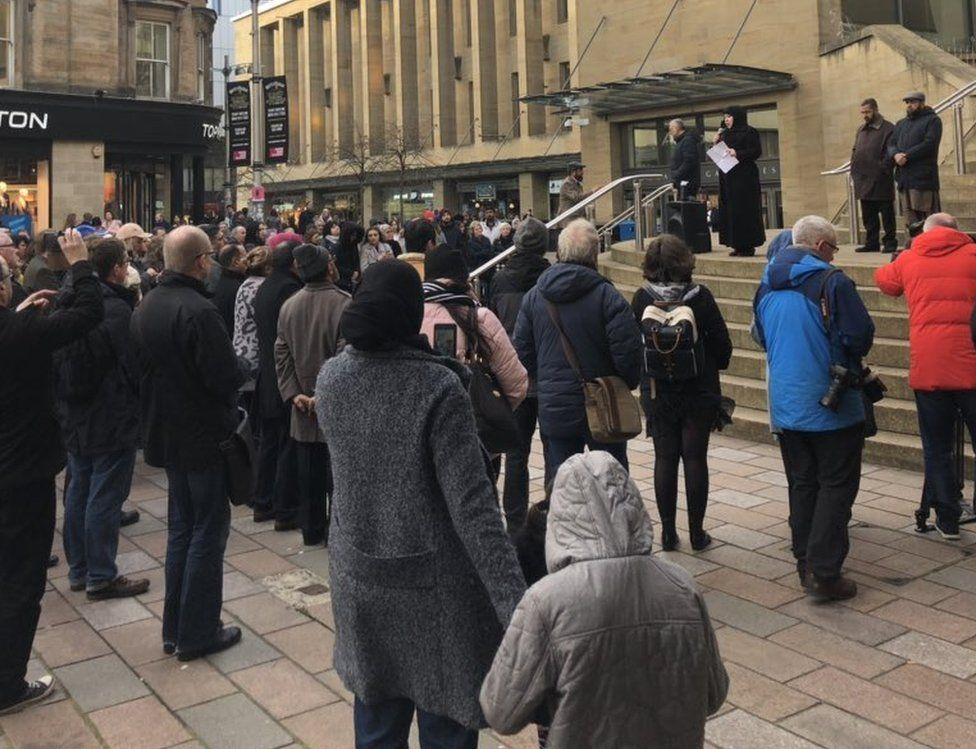 Glasgow vigil