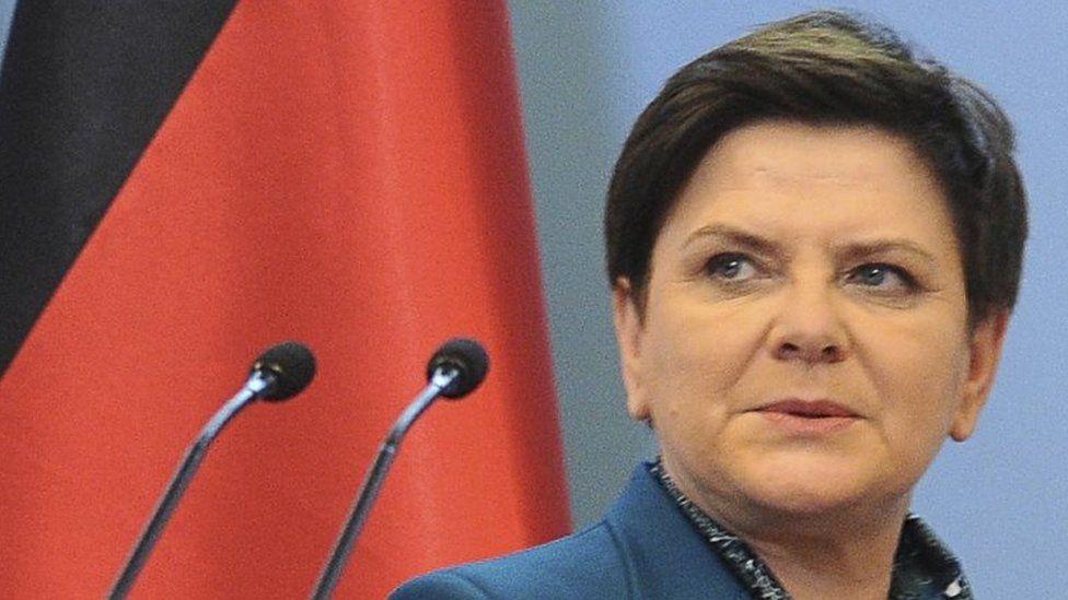 Polish Prime Minister Beata Szydlo. Photo: 7 February 2017