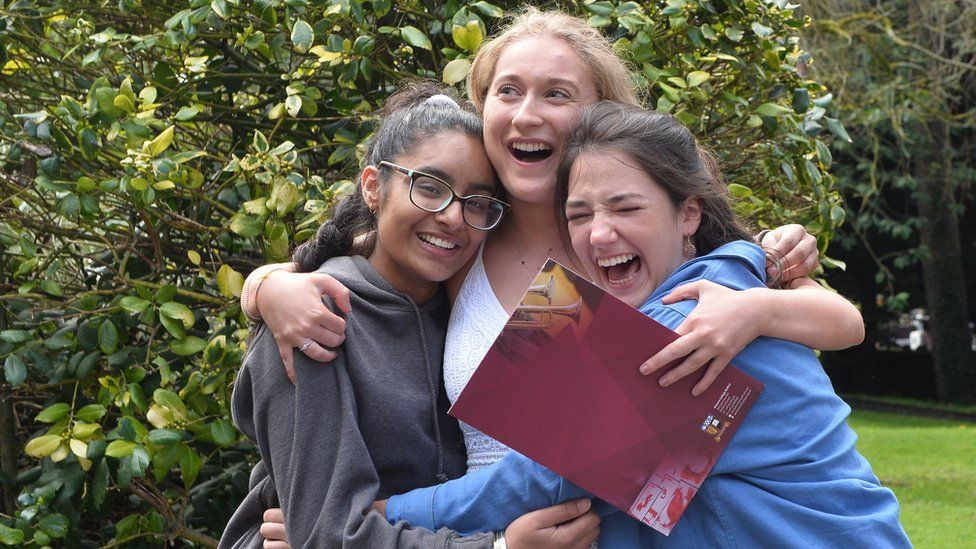 A-level top grades rise in Northern Ireland