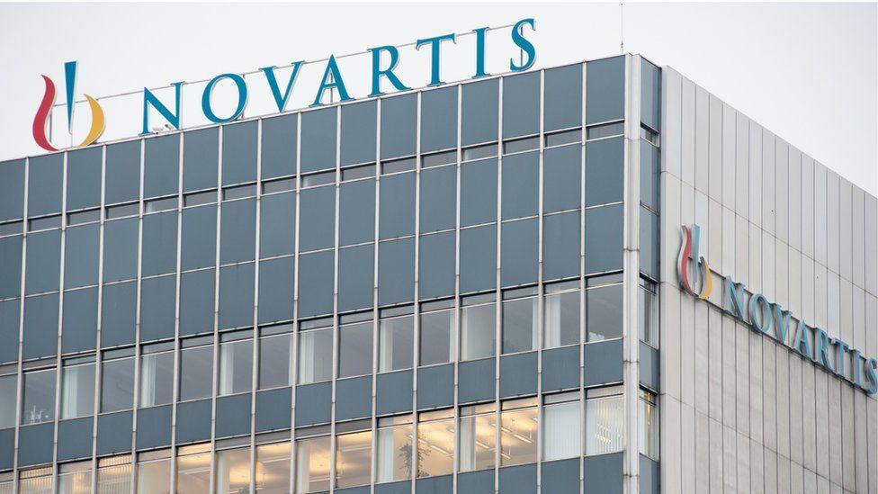 The headquarters of Swiss pharmaceutical giant Novartis