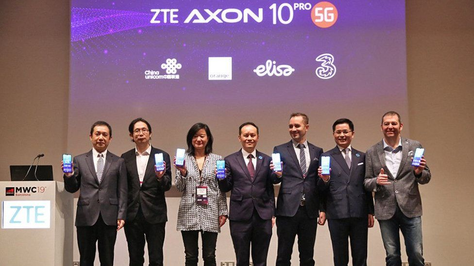 ZTE at MWC in 2019