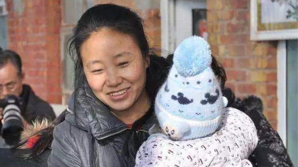File photo of Li Yanxia