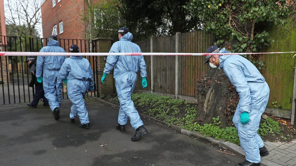 Forensic officers carry out search in Streatham following attack