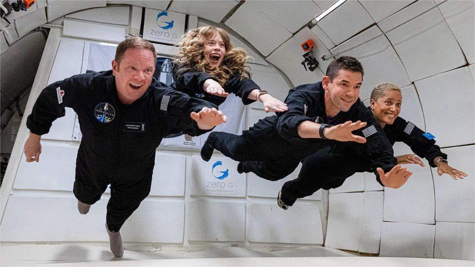 Inspiration4: Amateur astronauts set for SpaceX orbital flight - BBC News