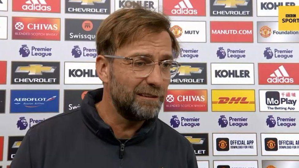 ليفربول ومانشستر يونايتد: يورغن كلوب يقر بأن فريقه أهدر فرصة ثمينة