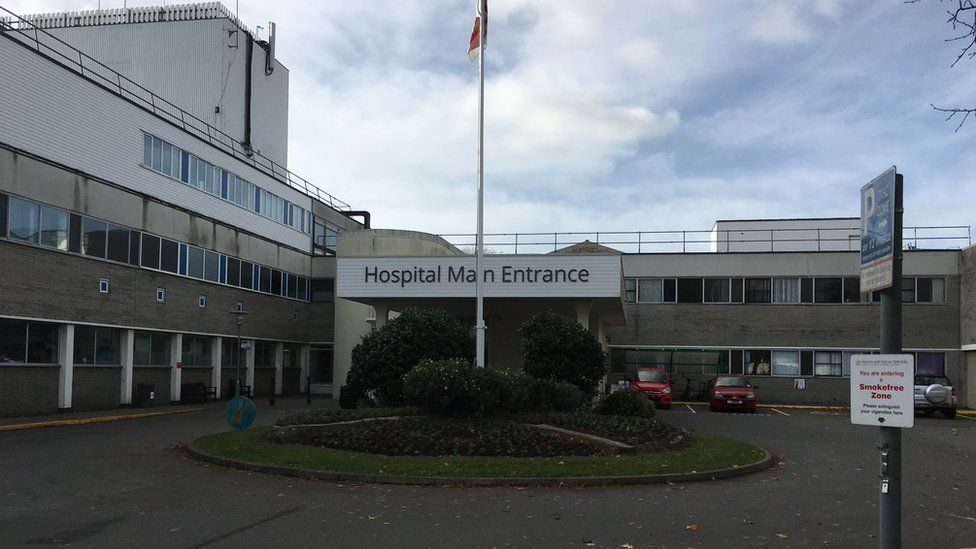 Princess Elizabeth Hospital entrance.