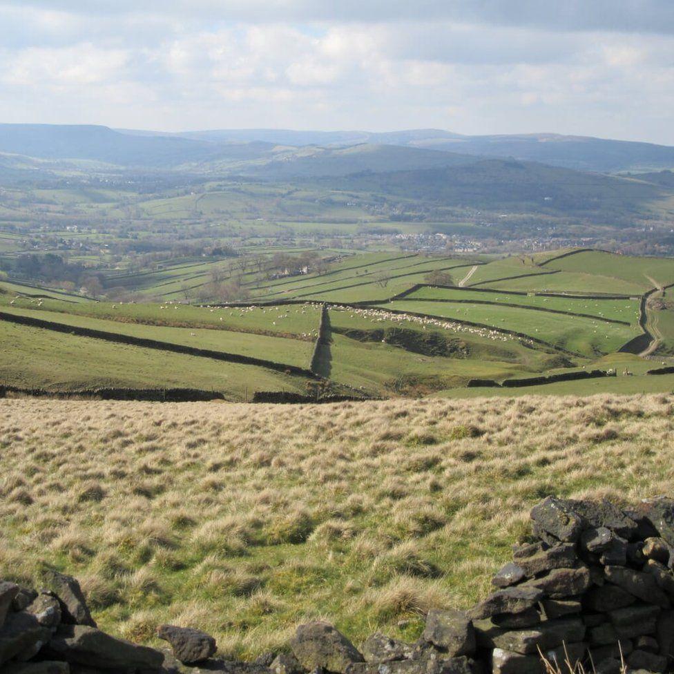 The Peak District in Derbyshire