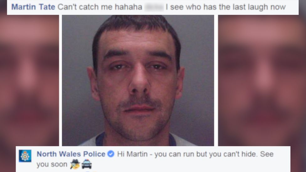 Martin Tate and Facebook comments