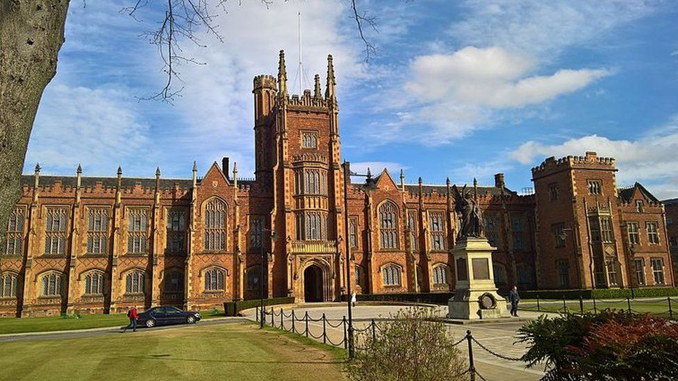 The Lanyon Building at Queen's University Belfast