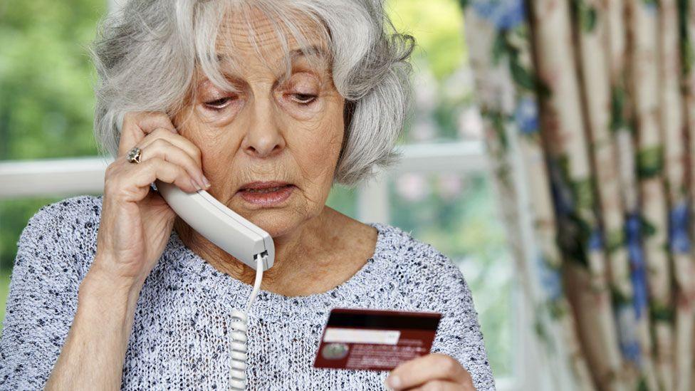 Elderly fraud