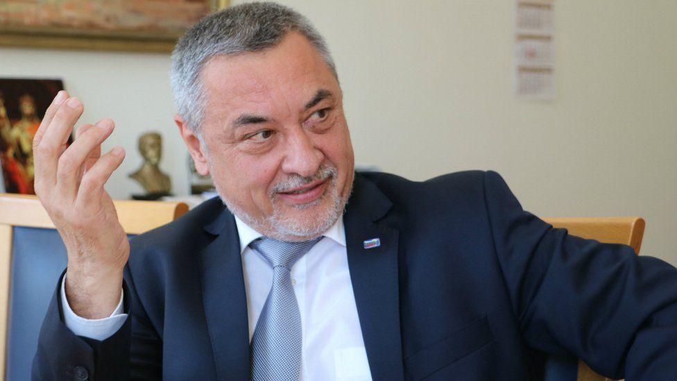 Bulgaria's Deputy Prime Minister Valeri Simeonov