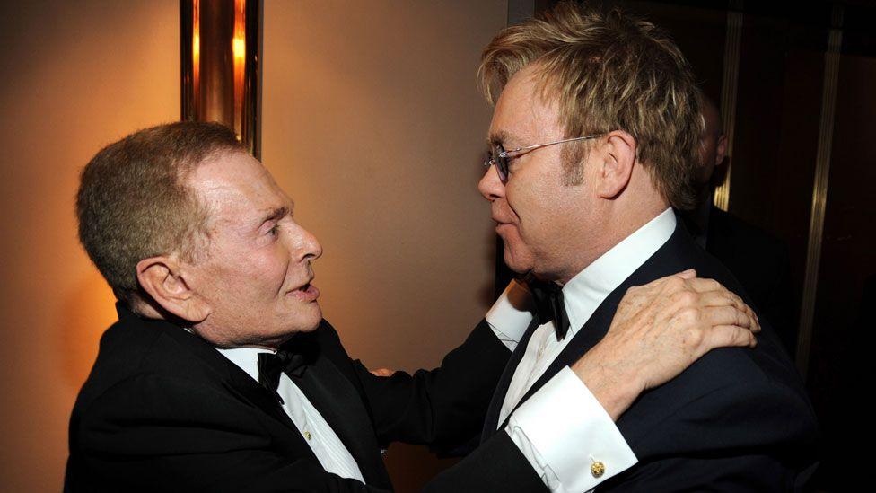 Jerry Herman and Elton John