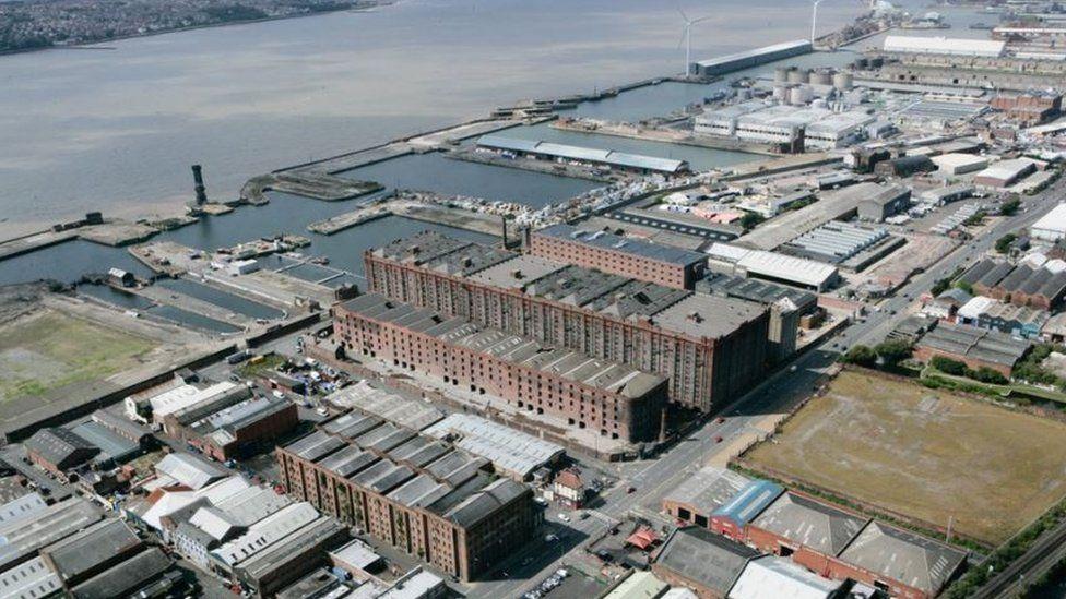 Liverpool's Stanley Dock complex