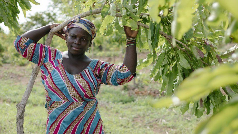 Ghanaian farmer Makeda