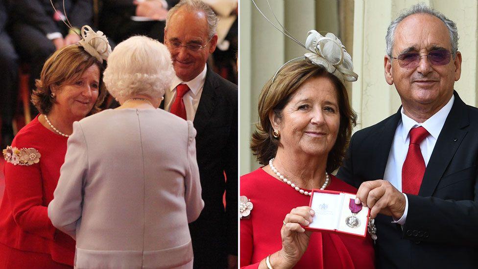 Ignacio Echeverría's parents received the George Medal on his behalf