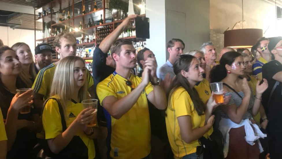 Sweden fans in London