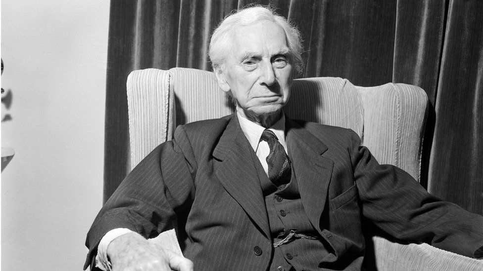 Philosopher, mathematician, Nobel Prize winner - and masterful prose craftsman: Bertrand Russell in 1962 on his ninetieth birthday