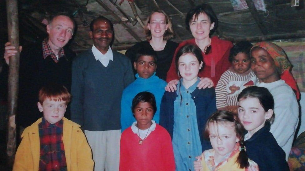 kate forbes in india