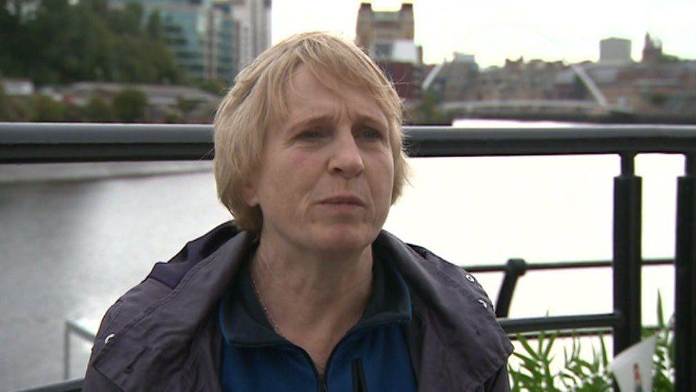 Dr Sue Hills, mum of Alice Ruggles