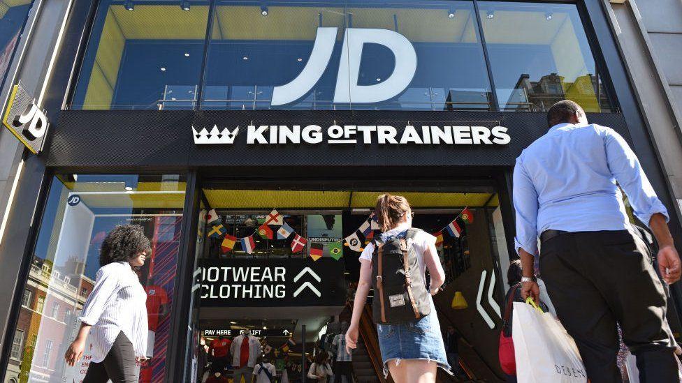 JD Sports Oxford Street