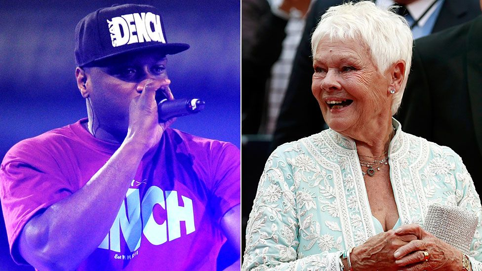 Lethal Bizzle and Judi Dench