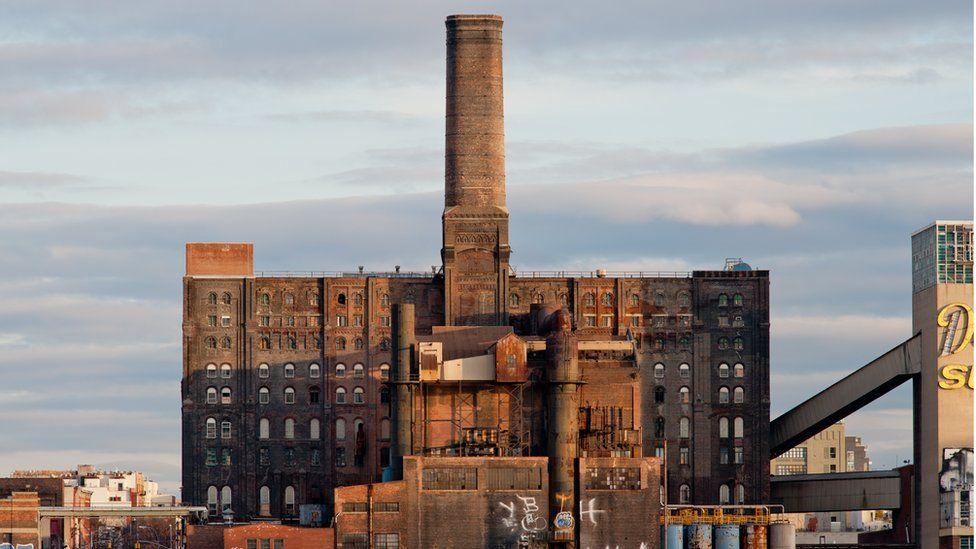 Domino's Sugar factory