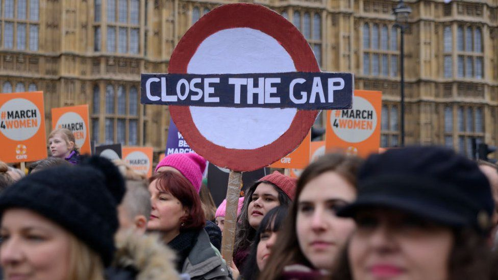 The March4Women event taking place in London