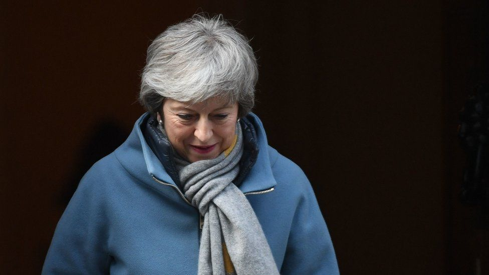 Prime Minister Theresa May leaves 10 Downing Street, London
