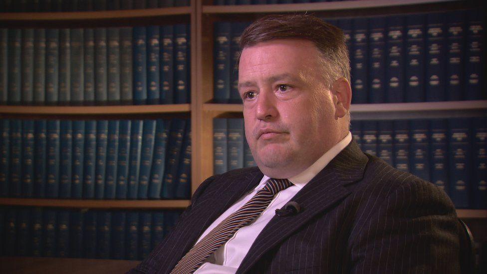 Lawyer Stephen Boyd