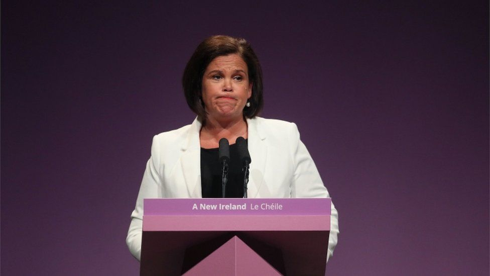 Mary Lou McDonald said the party had made every effort to facilitate the views of its members