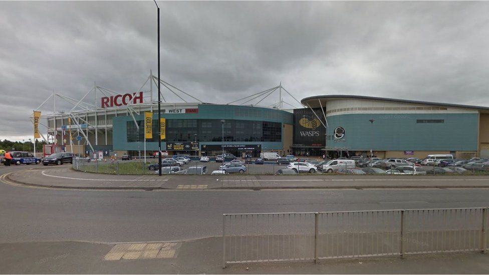 Police Officer Hurt After Coventry Match Disorder Bbc News