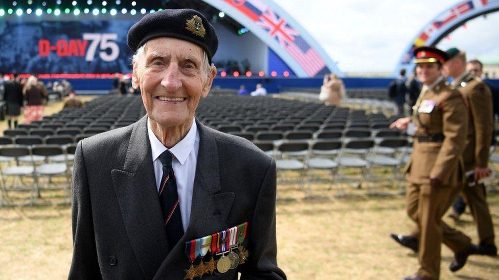 D-Day veteran Jim Booth