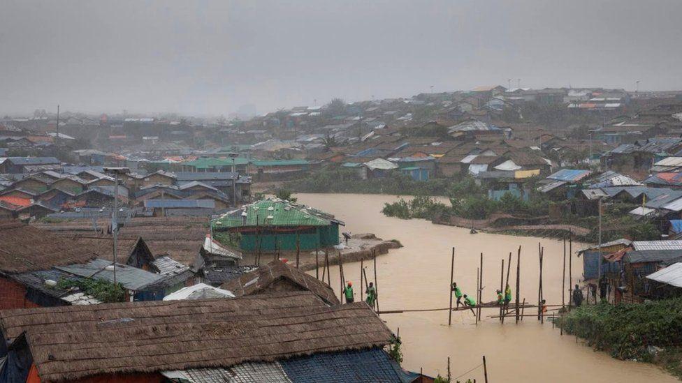 Refugee camp in Cox's Bazar