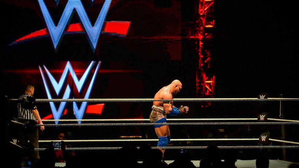 WWE wrestler in ring