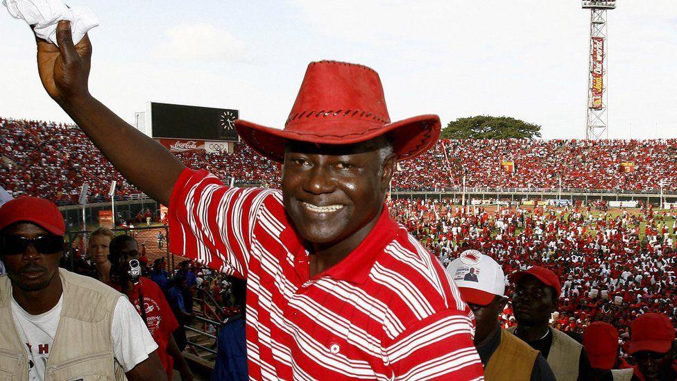 Ernest Bai Koroma in 2007