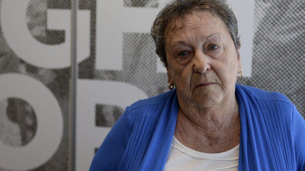 Yvonne D'Arcy in Brisbane (7 Oct 2015)