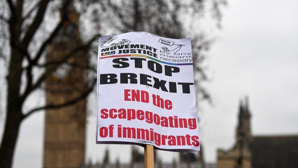 Stop Brexit banner