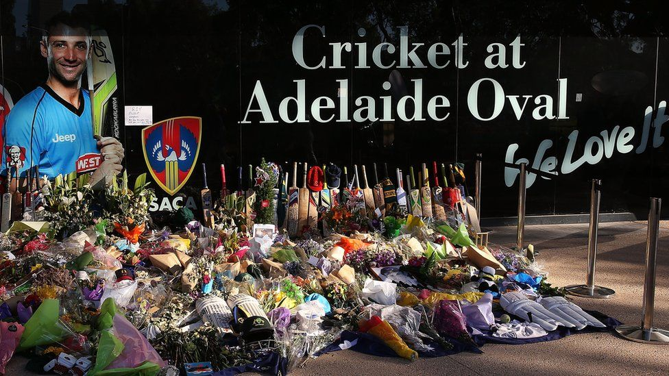 Tributes flowed from around the world following the death of Phillip Hughes