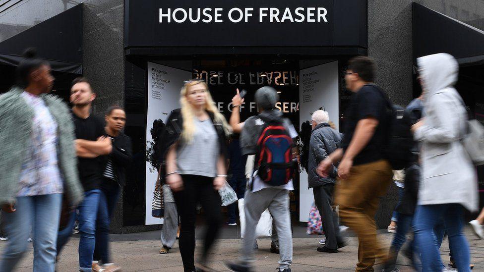 House of Fraser store