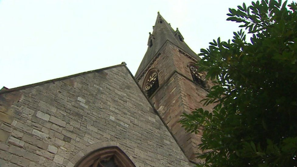 St Peter's Church, in Ruthin