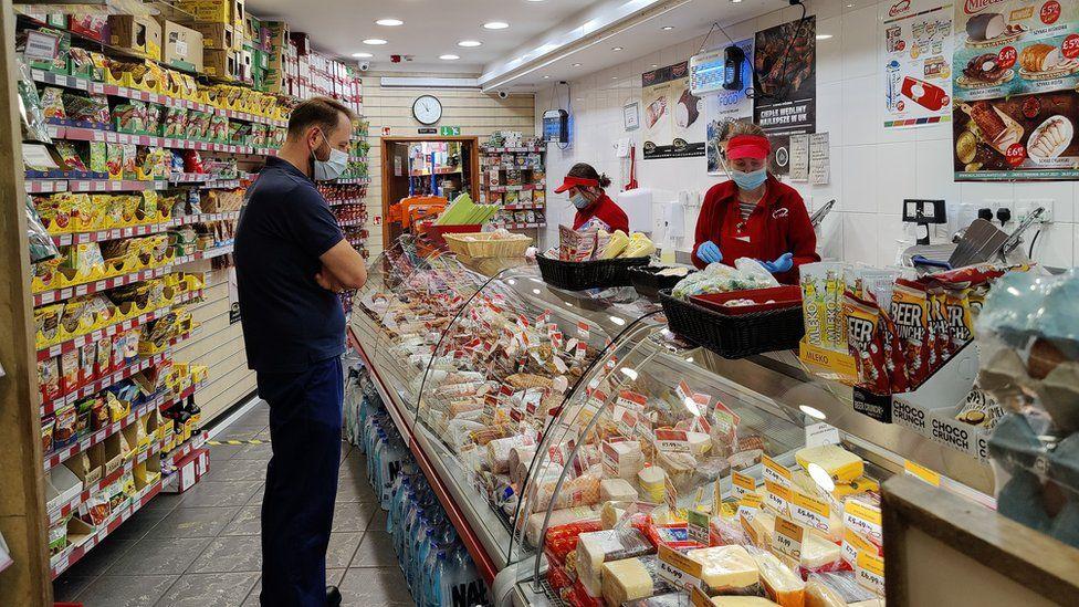 Mleczko Polish supermarket, South Ealing