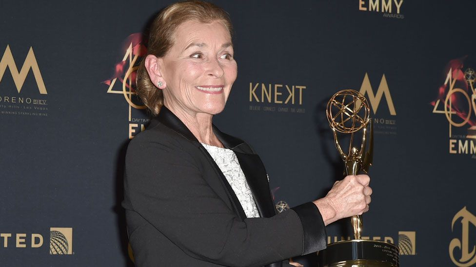 Judy Sheindlin at the 2019 Daytime Emmys