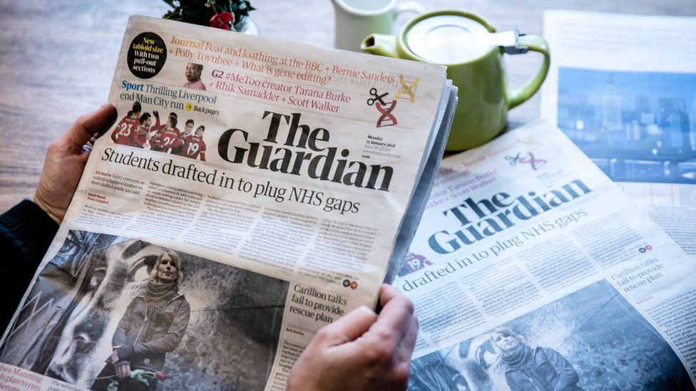 Guardian records first operating profit since 1998